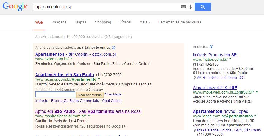google adwords imobiliarias